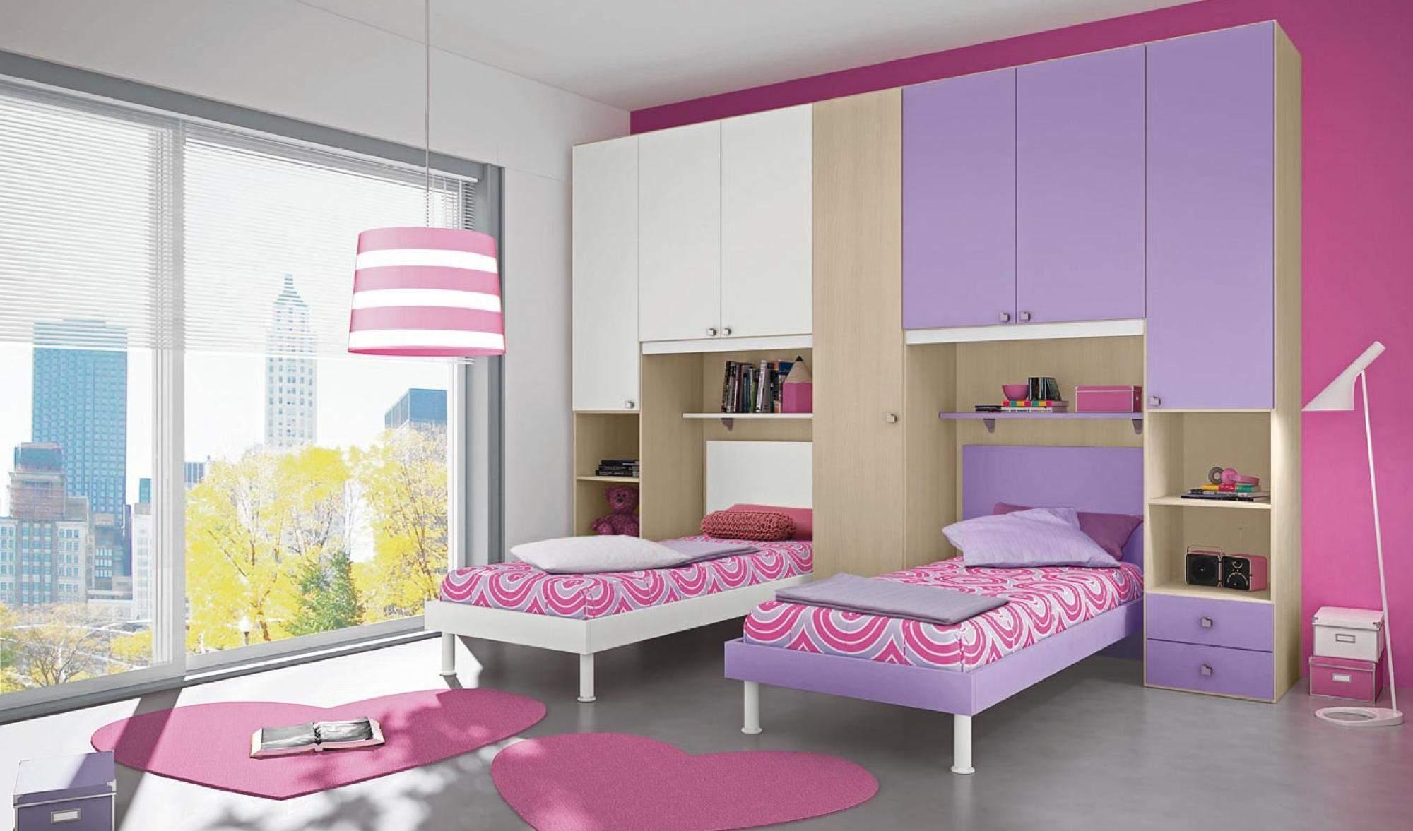 Camerette bambini per stanze piccole design casa for Mobili componibili per camerette