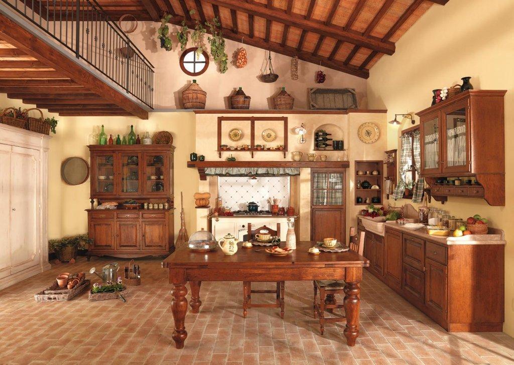 Cucina ginestra pignoloni for Piani del giroletto in stile missione