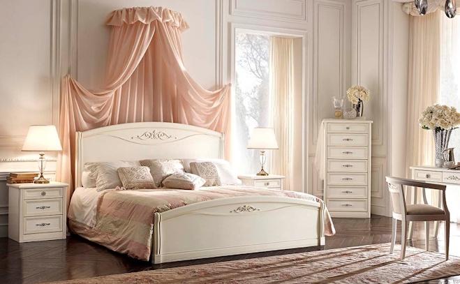 Camera da letto portofino bianca pignoloni for Pignoloni arredamenti