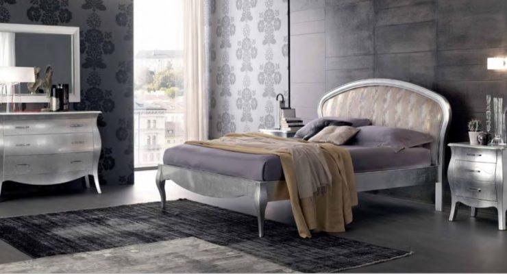 Camere Da Letto Foglia Argento : Camera da letto argento u casamia idea di immagine