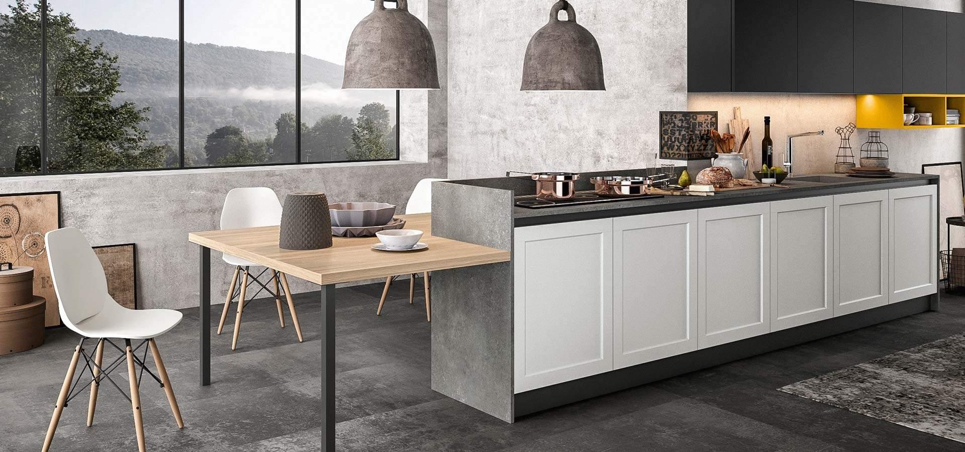 Cucina Frame di Arredo3 presentata da Pignoloni in esclusiva ...