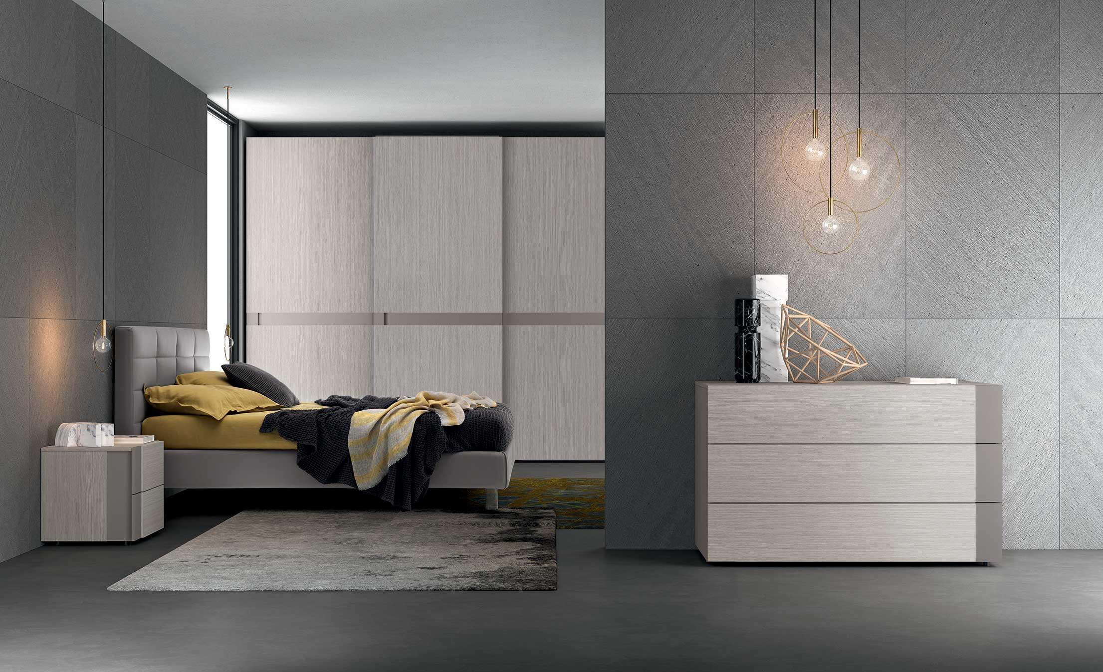 Camera da letto s05 vitality pignoloni for Pignoloni arredamenti